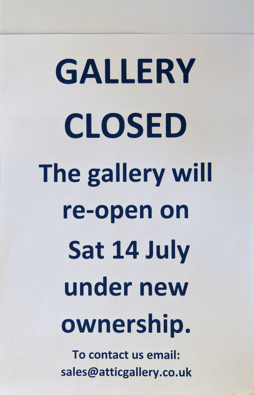 The Summer Group Show opens on 14 July with new work from all the artists.