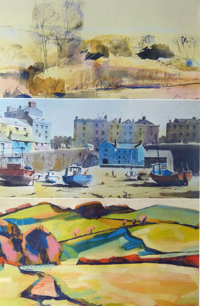 Titled 'Three Viewpoints' this exhibition features landscape paintings by Jacob Buckland, Peter Cronin and Michael Howard.