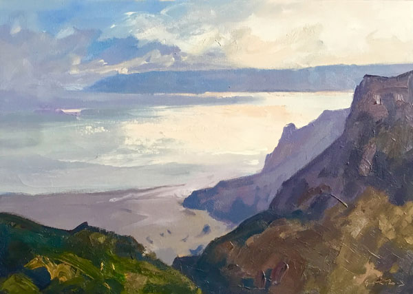 Gareth Thomas - This solo exhibition will feature his latest paintings of Wales and Provence.