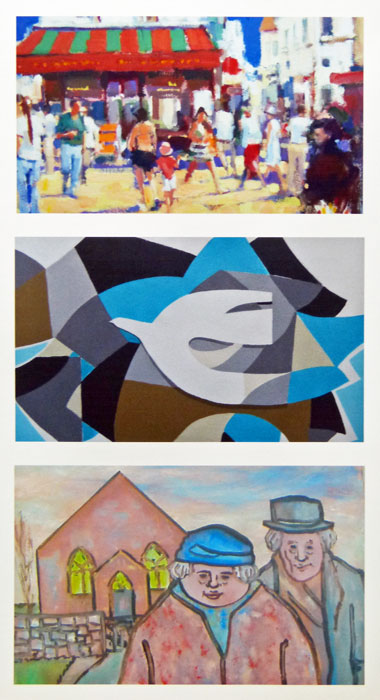 DAVID RANDAL DAVIES, KATHRYN LE GRICE AND KAREL LEK - new work from three established artists.