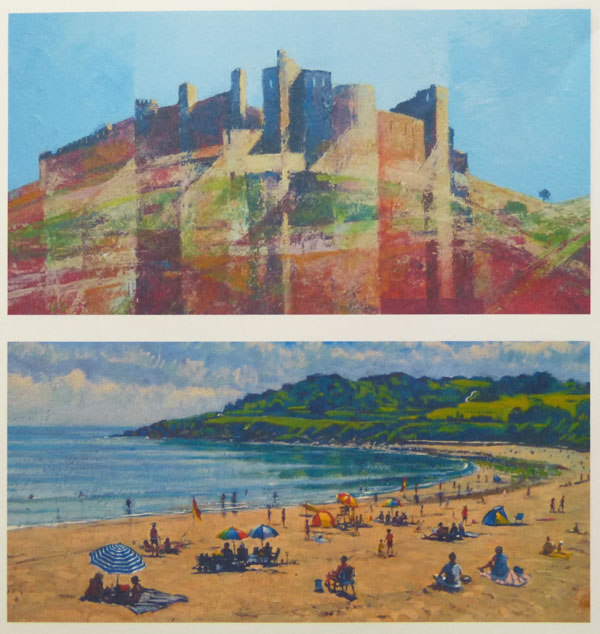 ROBERT HARRISON AND THOMAS HASKETT - New work from two contrasting landscape painters.
