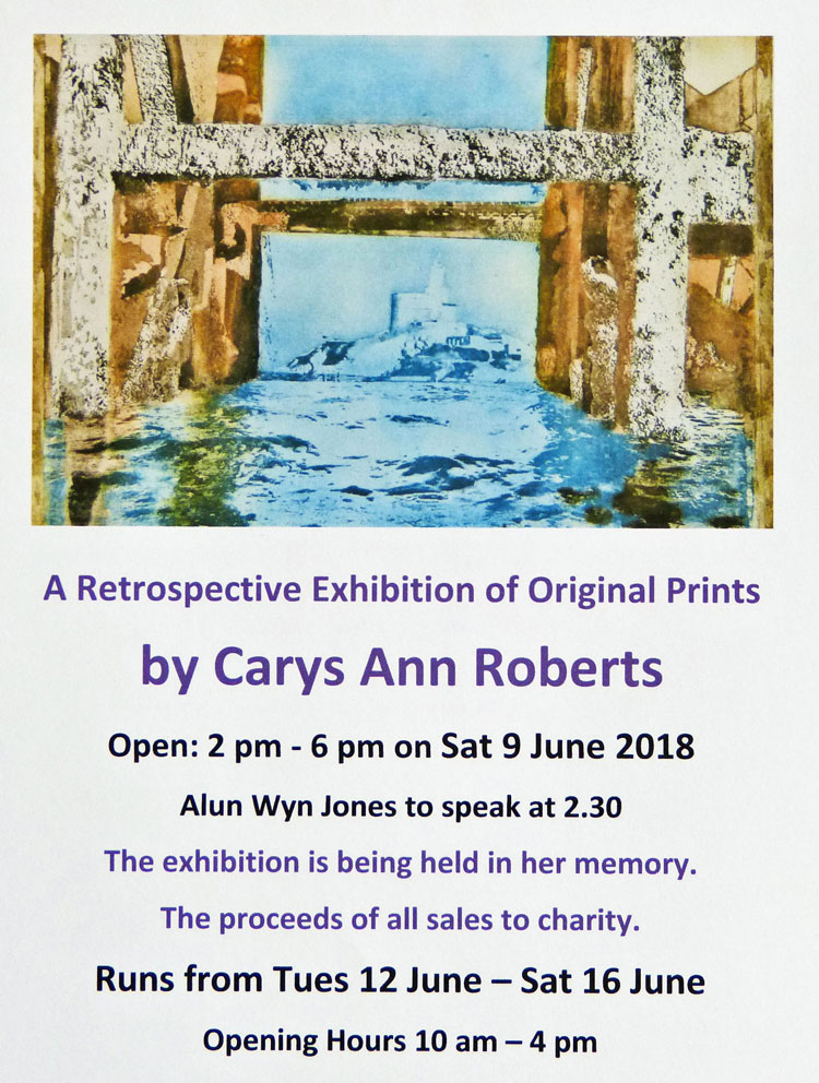 Carys Roberts Exhibition - See Above