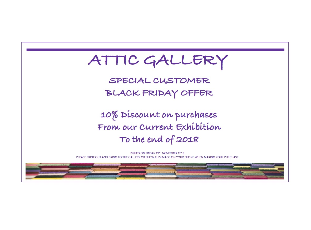 Attic Gallery Gift Vouchers