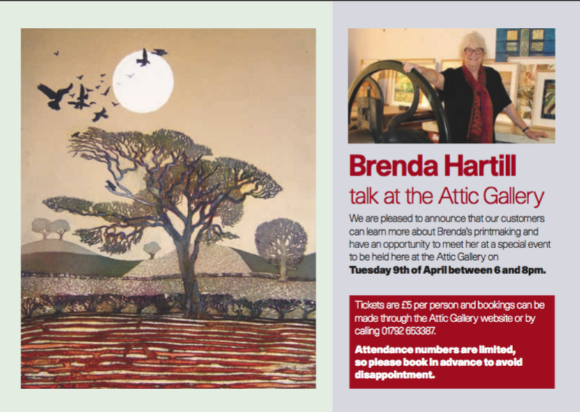 April Talk by Brenda Hartill