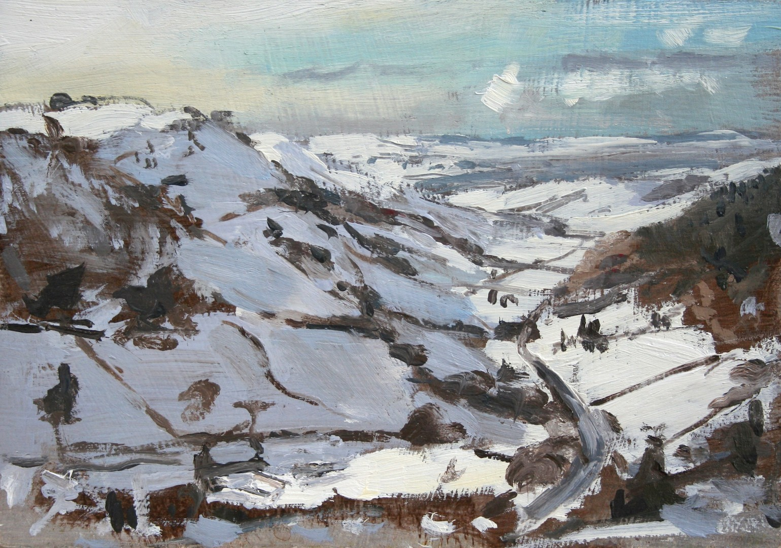 "25. Matthew Wood ""Rhew valley"""