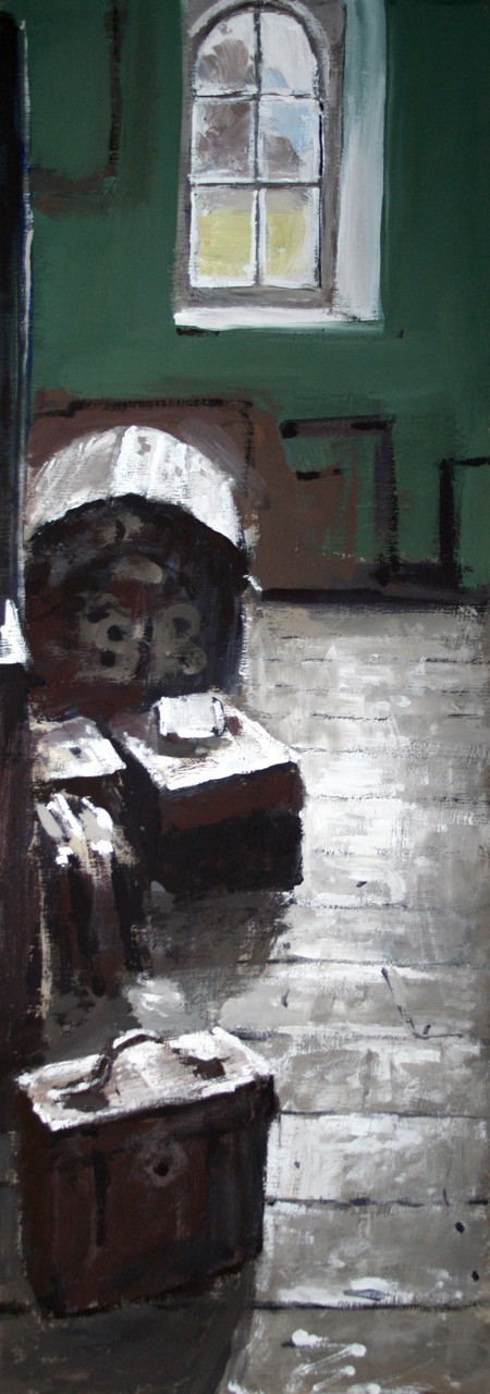 """28. Matthew Wood """"Vaynor Attic space detail with chest"""""""