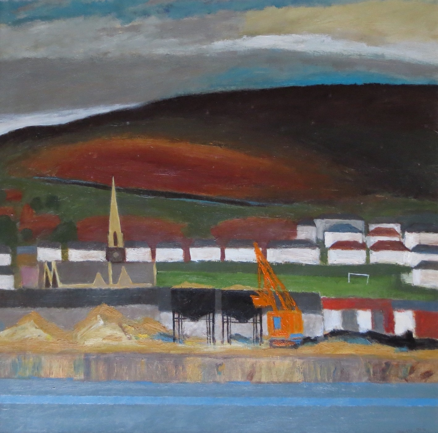 4.Kilvey Hill No.2 (59 x 59 cm) Oil
