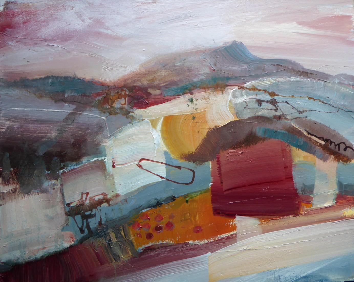 Fields   40 x 50 cm   Acrylic on canvas