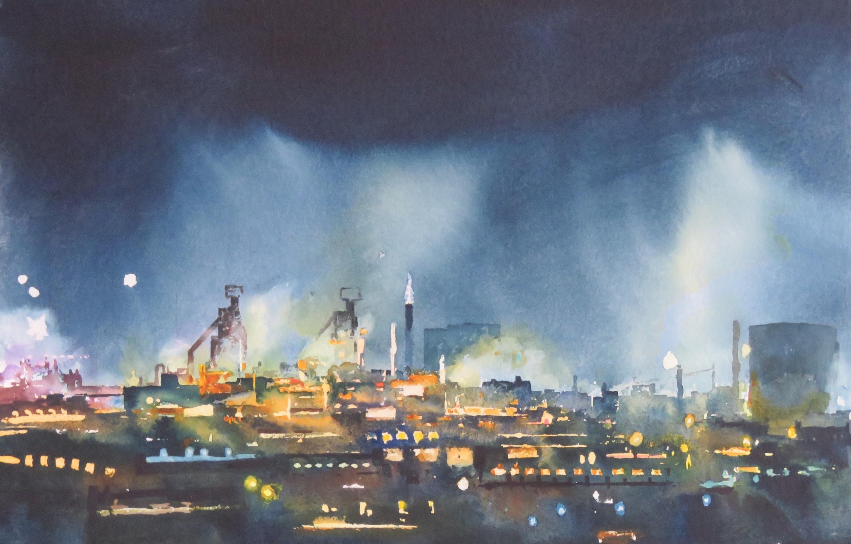 Light Fantastic    38x56 cm     Watercolour