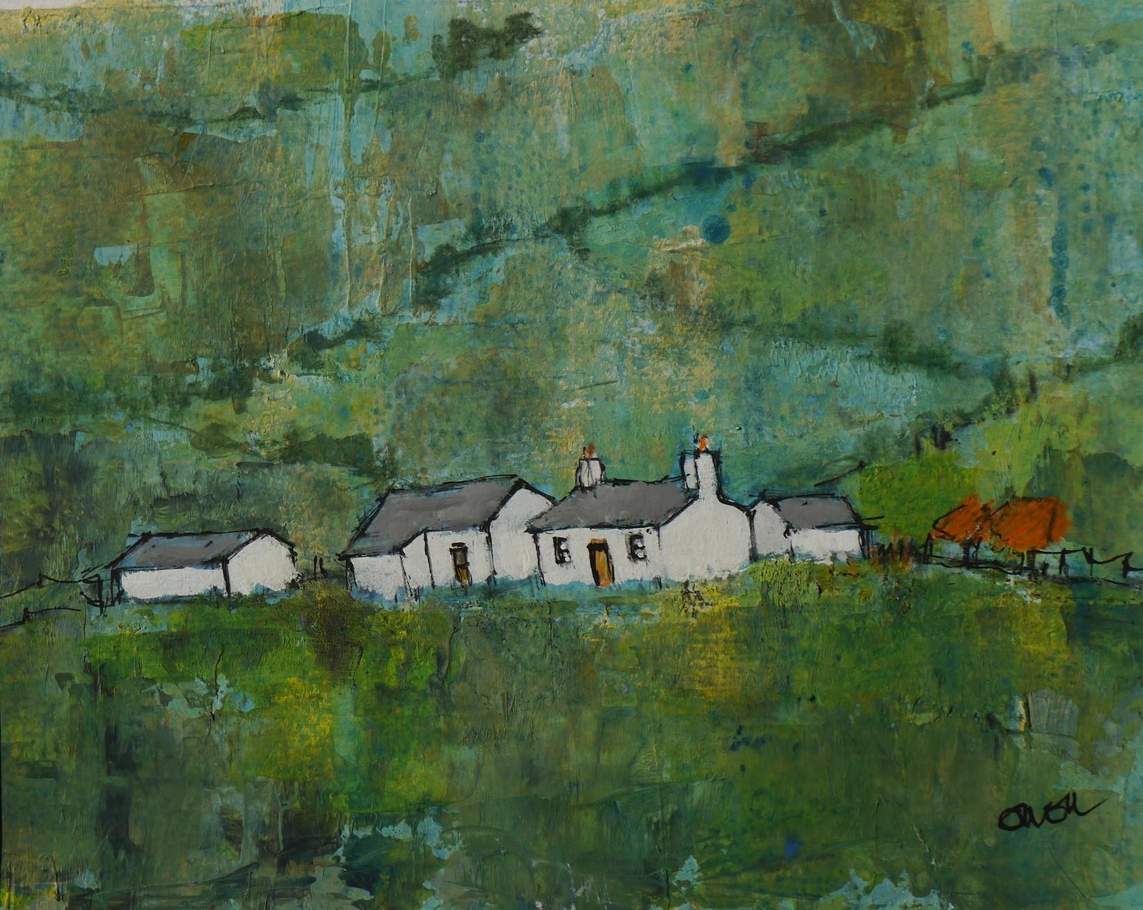 Above Mawddach   30x40 cm   Acrylic on Canvas   UNFRAMED