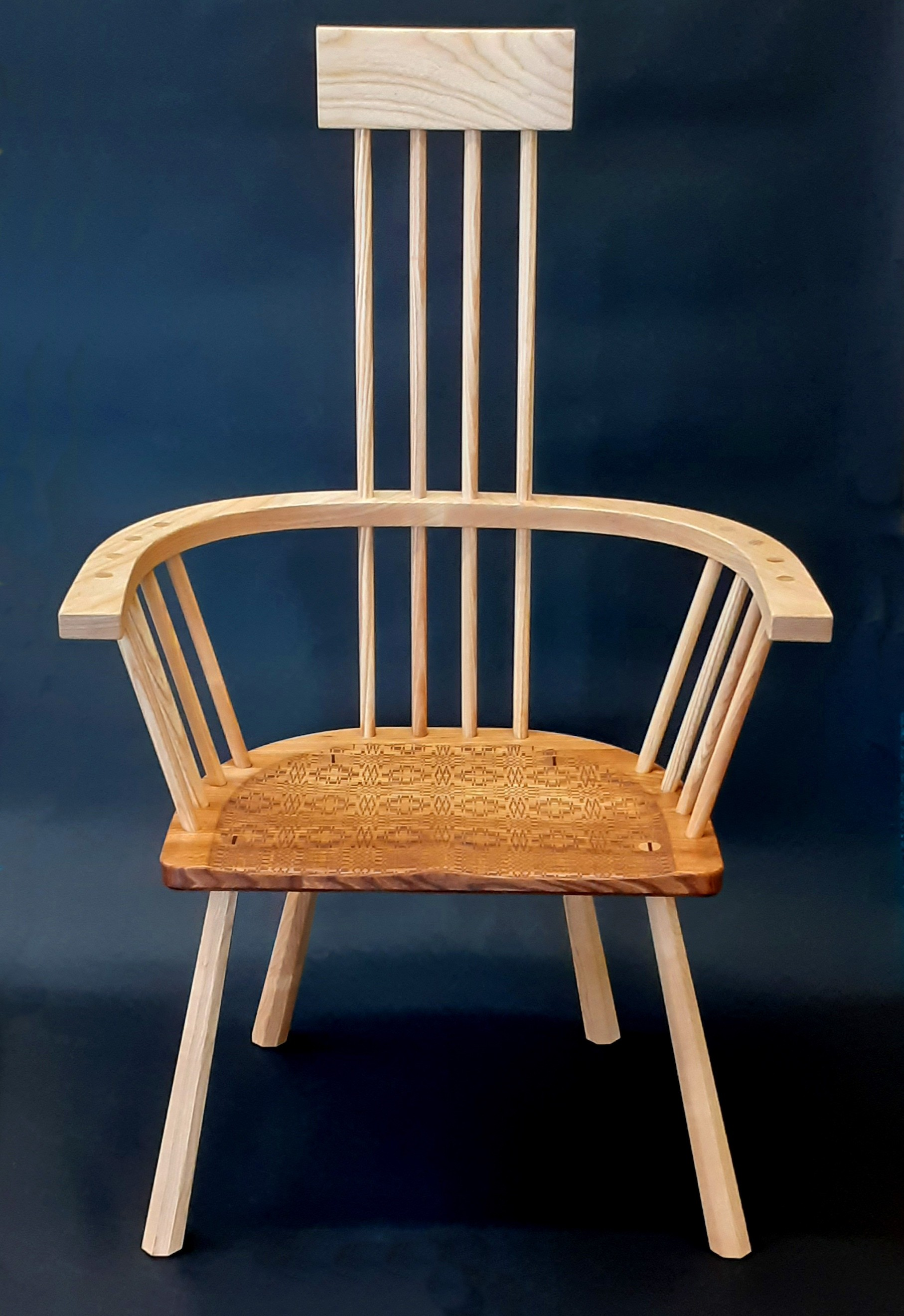 """Carthen Chair"" Wooden Chair"