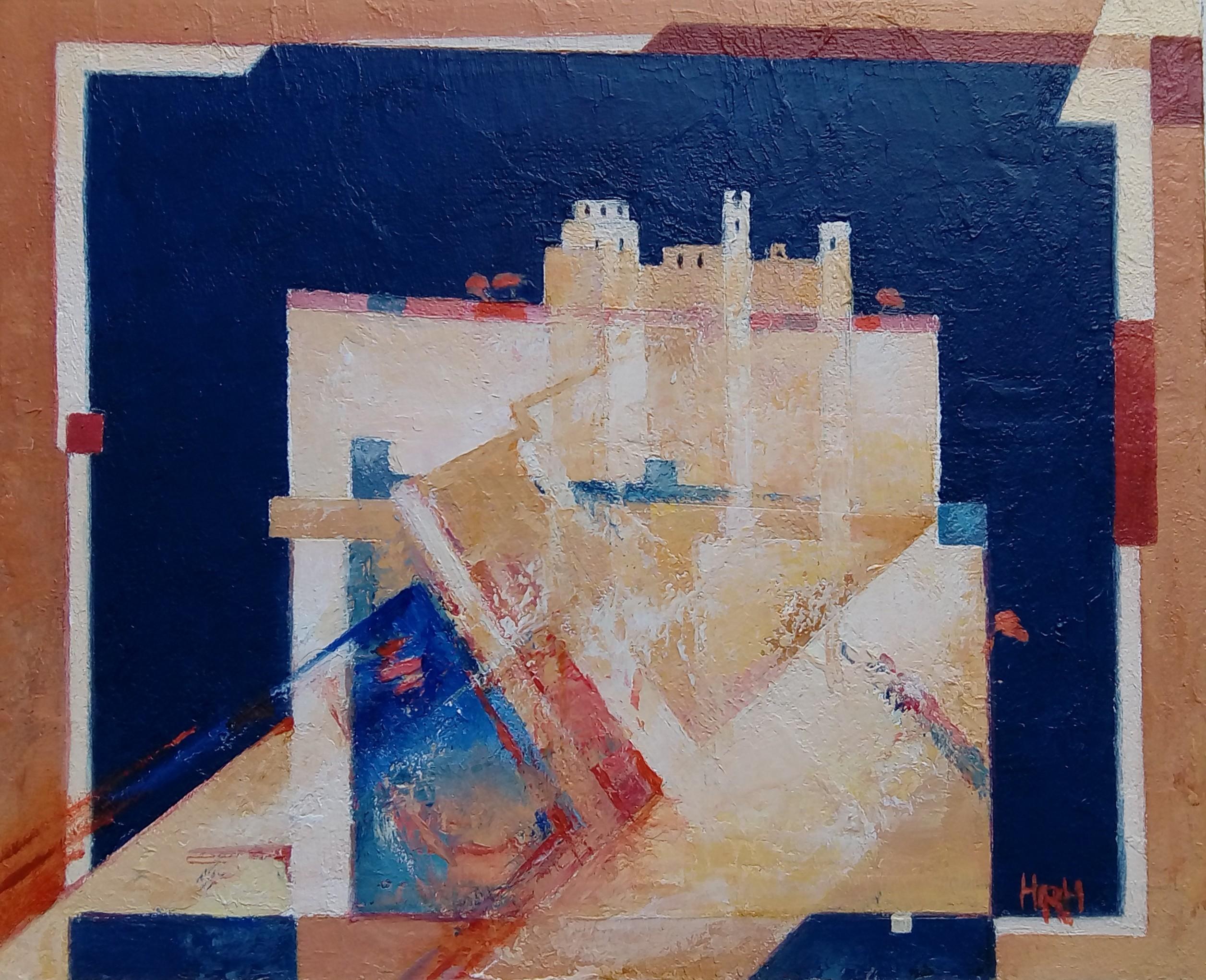 Dynevor Castle   24x29 cm   Alkyd Oils
