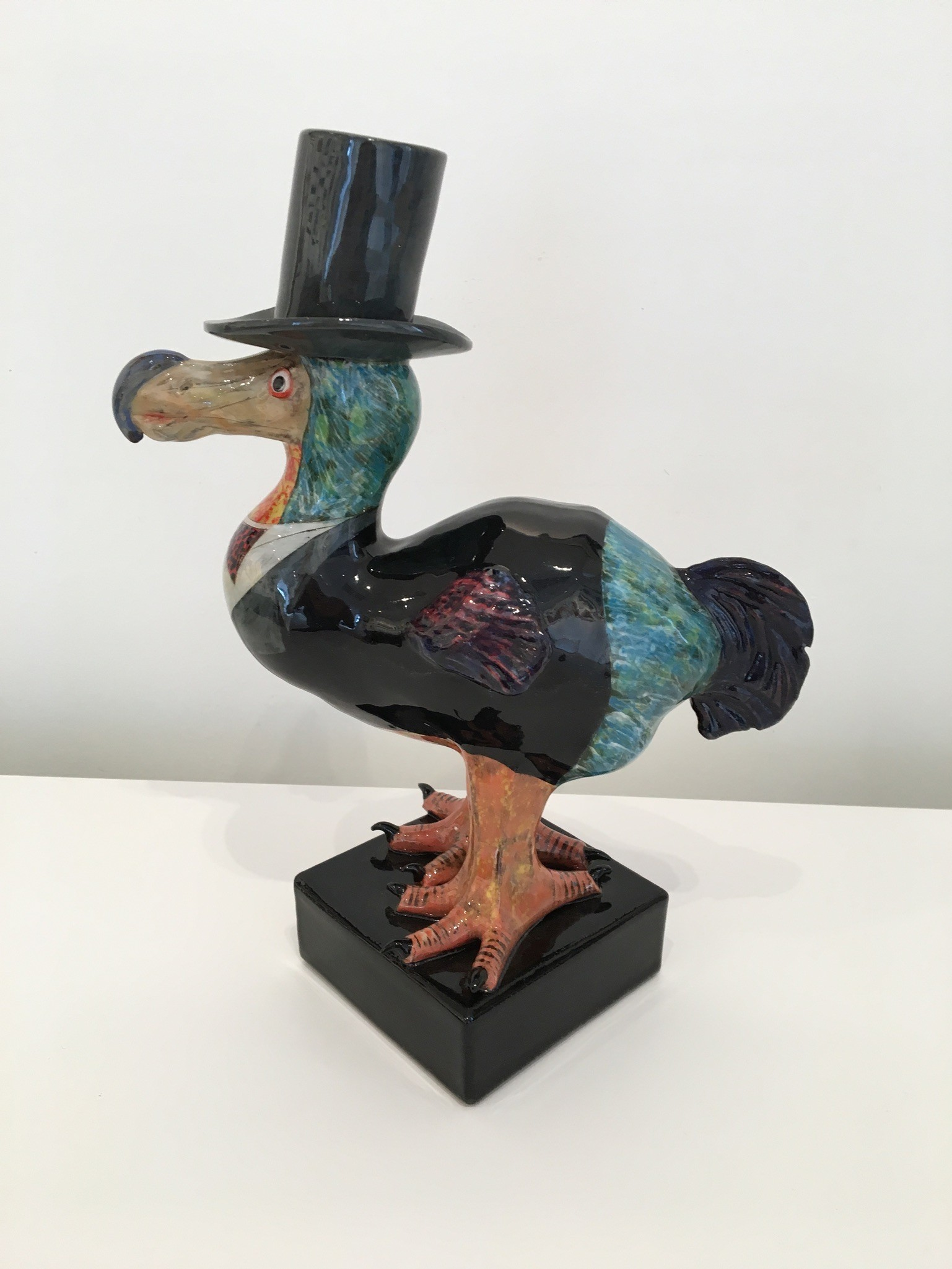 Single Dodo ceramic sculpture