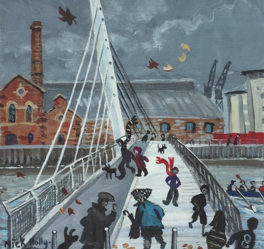 Nick Holly Sail Bridge print HCPT