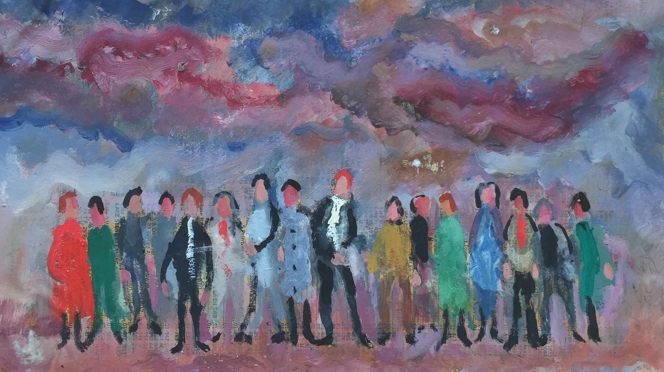 People and Sky II