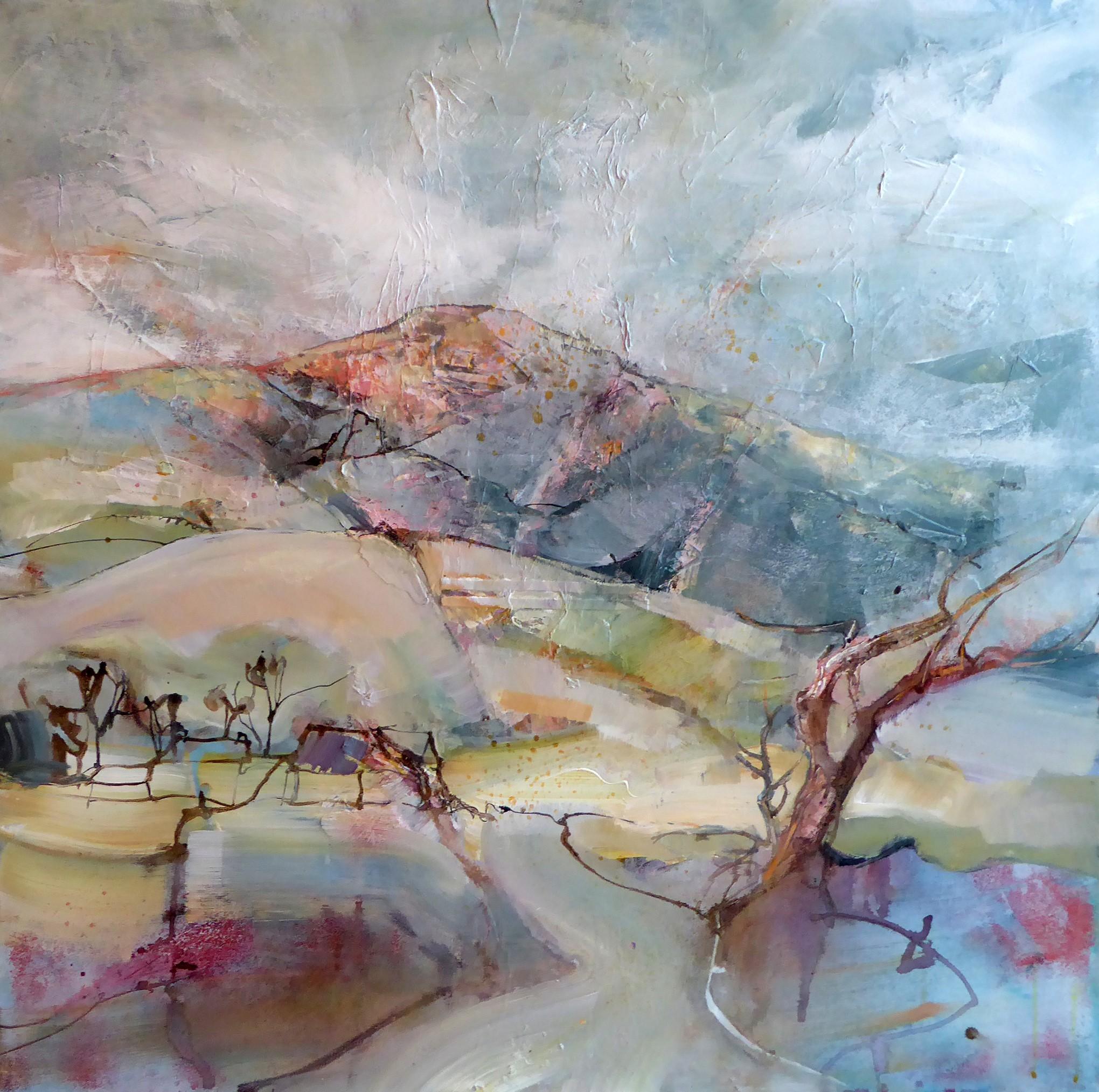 'Windy day Preseli' Acrylic
