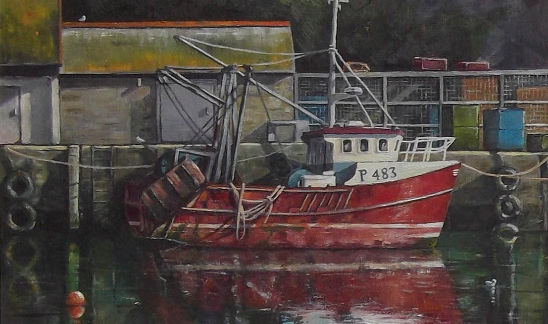 18.Thomas Haskett 'Red fishing boat'