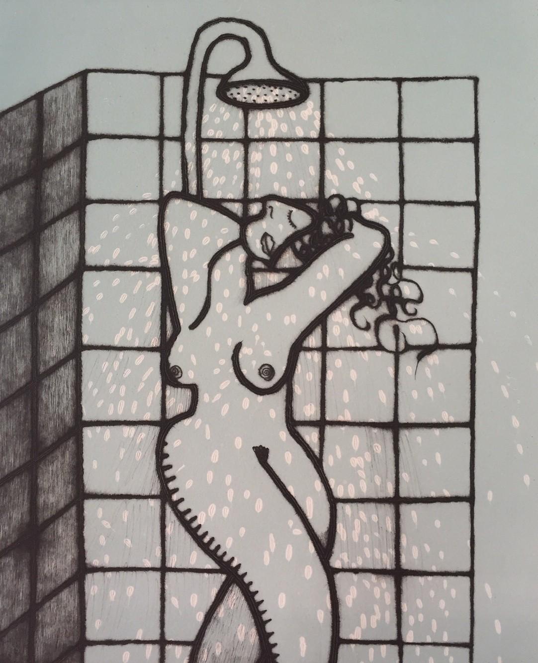 Showering I     Ed. 20/150     43 x 35 cm