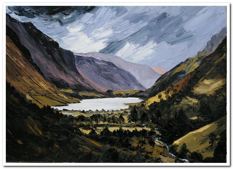 Talyllyn   50 x 70 cm   oil on canvas