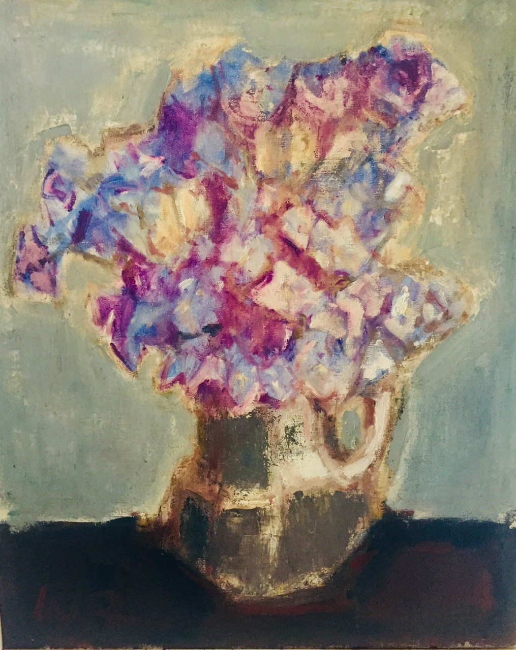 """1.Will Roberts """"Flowers in a Jug"""""""