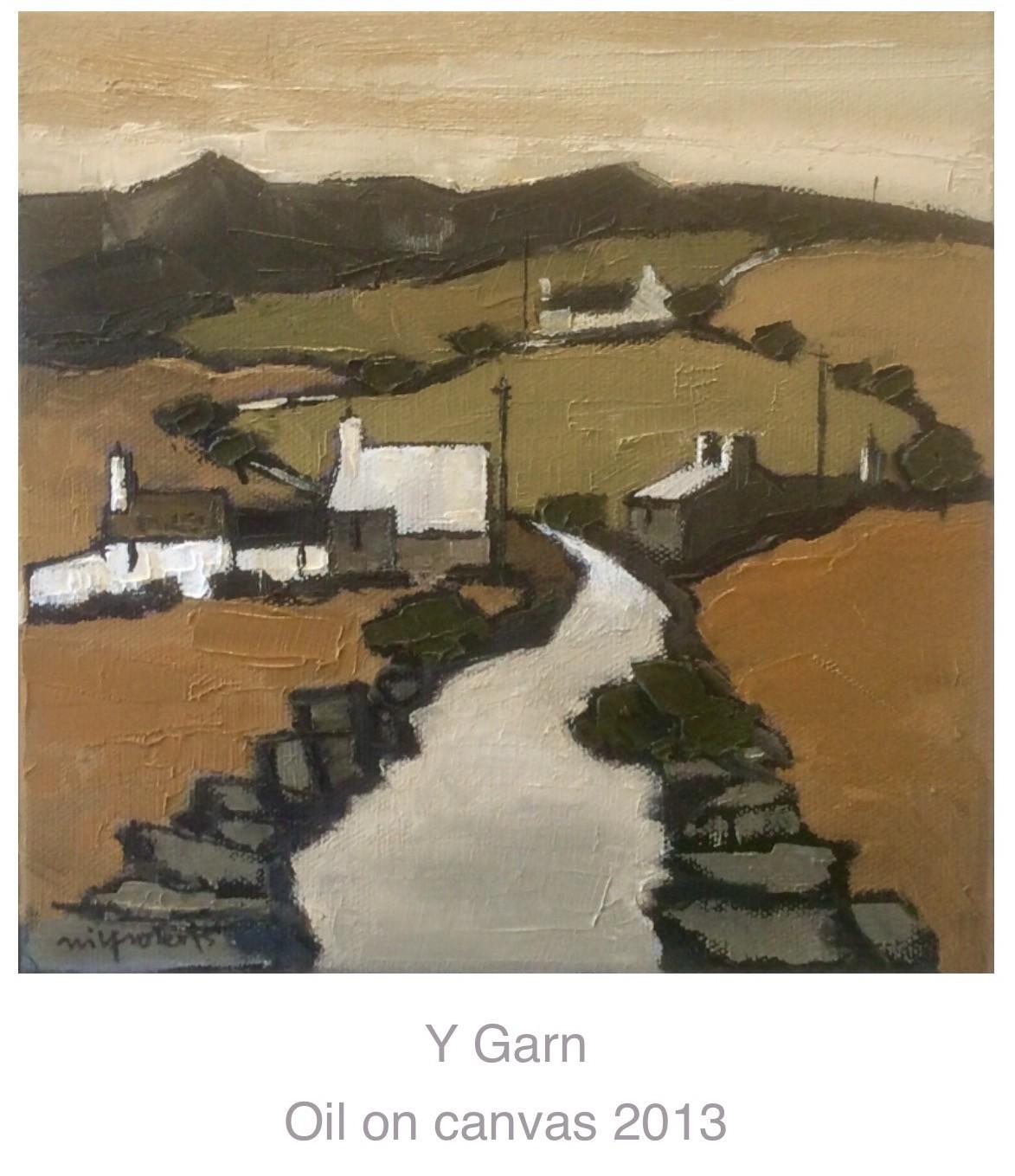 Y Garn   by Wilf Roberts     Oil     20 x 20 cm