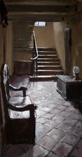 "6. Matthew Wood ""Erddig Hall, Servants staircase south"""