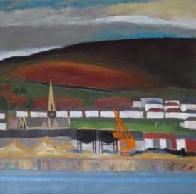4.Kilvey Hill No.2 (59 x 59 cm) Oil