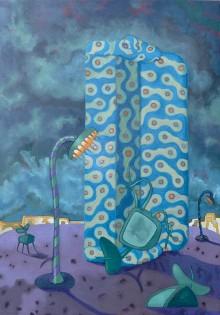 Aphrasia Events III  92 x 65 cm   Oil on canvas