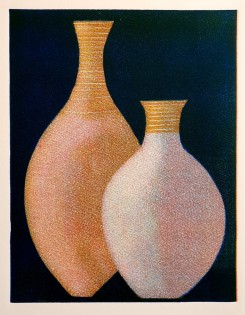"""Two Pots"" Original Print Monoprint (21 X 26 CM)"