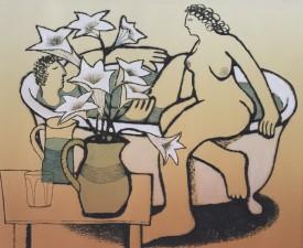Bathing Lovers II     Ed. 12/100     30 x 36 cm
