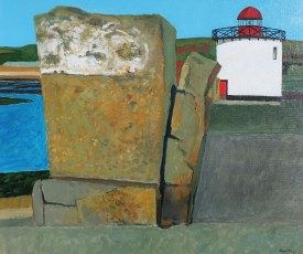 Bury Port    20 x 24 ins    Acrylic
