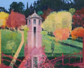 Clyne Gardens, Alkyd Oils, 22 x 27 cm, £365