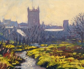 22.Thomas Haskett 'Early spring light St. Davids'