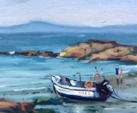 27.Thomas Haskett 'Fishing boat at St Brides'