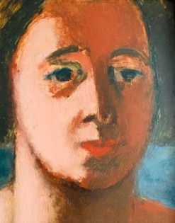 """Phyllis"" Oil on Board (30.5 x 25.5 cms)"