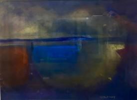 "Glenys Cour 'Solitary Figure III""  (14"" x 20"")"