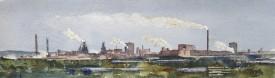 Port Talbot Series No.1    13 x 43 cm    Watercolour