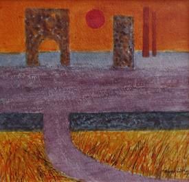 10. Setting sun Lower Swansea valley