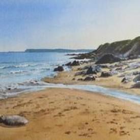 Sandy Bay    33 x 51 cm    Watercolour