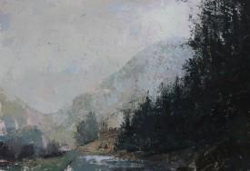 Lumiere - Rhondda   Oil    64 x 84 cm  (framed size)