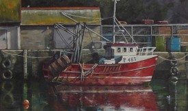 18.Thomas Haskett 'Red fishing boat'