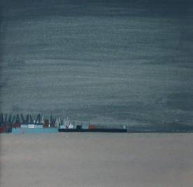 Swansea beach and docks wc 1984