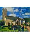 St. Mary's, Pennard   38 x 46 cm   Acrylic