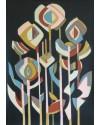 Twilight Flowers   23 x 17 ins.   Acrylic