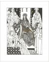 Tudor Court     Pen & Ink     29.5 x 24 cm    (Unframed) Off-white mount
