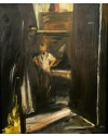 Actor in Shadows     50 x 40 cm     Oil