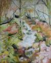 Blaen y Glyn Pathway    100 x 80 cm   Oil on canvas