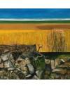 """""""Gower Landscape the Land1"""" Acrylic, (29 x 29 cm)"""