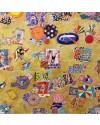 People Sunbathing in Langland / Pobl yn Torheulio yn Langland, acrylic, 24 x 24 ins