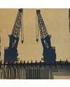 Docks III    8x8 ins    Screenprint  16/20